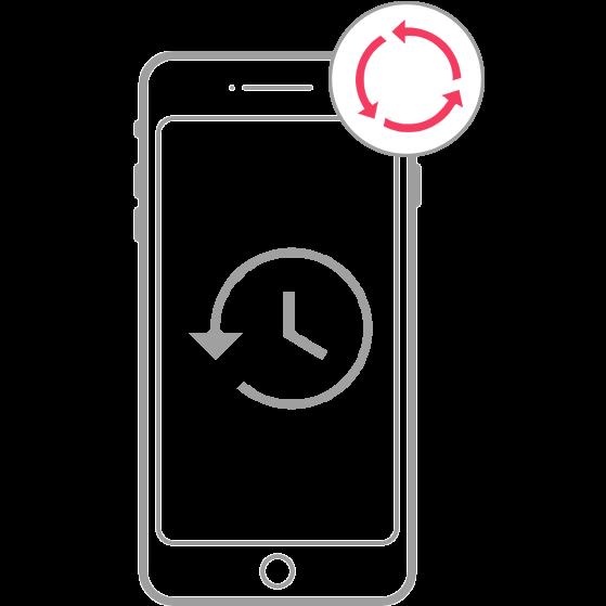 استعادة إعدادات المصنع في جهاز iOS